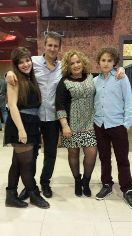 Ana y su gran familia...............