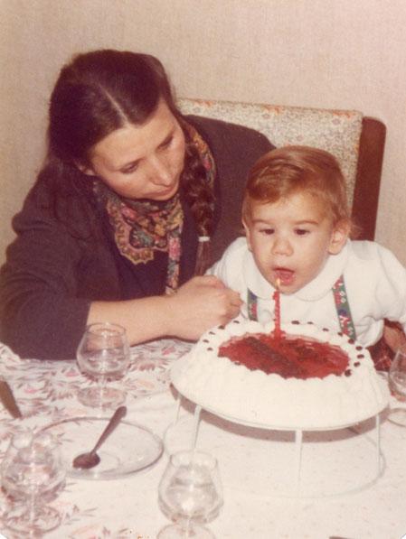 ¡ Su primer cumpleaños ! F. Pedro. P. Privada.