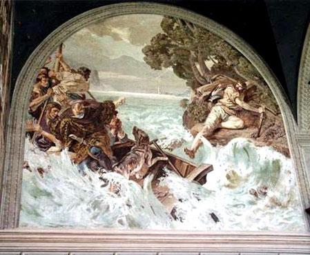 Gemälde in der Tellskapelle