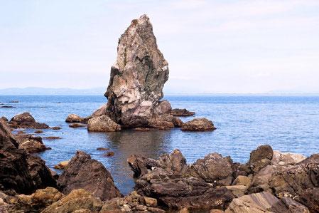 6位 上立神岩(兵庫県南あわじ市)
