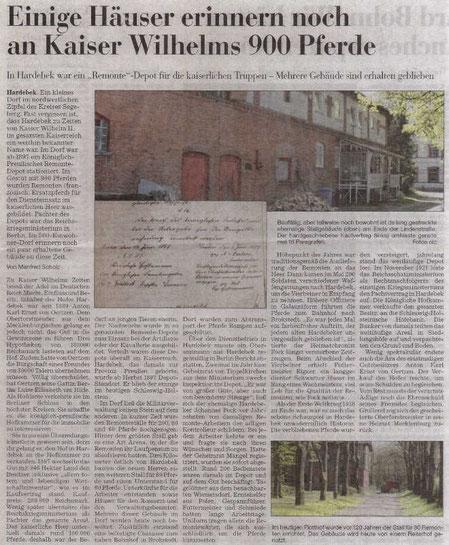 Artikel aus der Segeberger Zeitung
