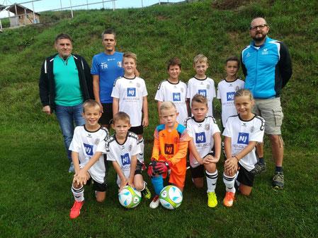Josef Neundlinger Spedition Erdbau Baggerungen - Sponsor Trikot U9 Sportunion Kollerschlag
