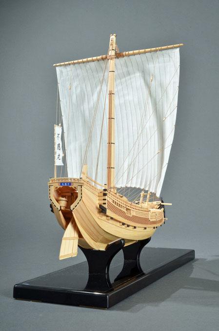 40-15 Higaki-Kaisen | Period:19th century Scale:1/72 Woody Joe | Toshio TAKAHASHI