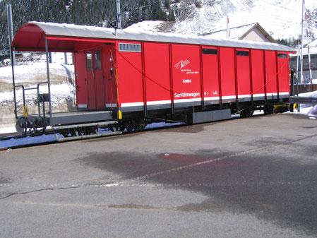 MGB Sanitätswagen mit der Bezeichnung X 4994