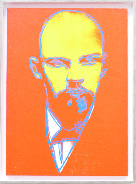 Andy Warhol : Lénine