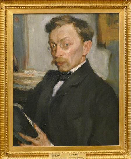 Josif Braz (1872-1936) : portrait de Konstantin Pervukhin