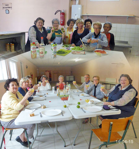Atelier cuisine du 16-04-2015
