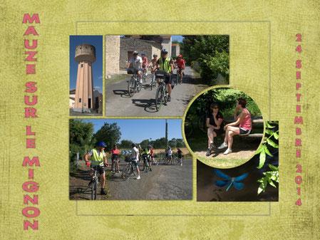 Sortie vélo 24-9-14