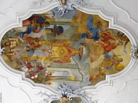 Deckengemälde, St. Bartholomäus