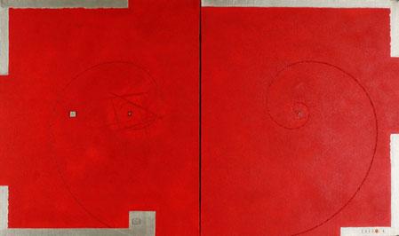 PLASMA MANIFOLD (STARSHIP)  5  760mm×455mm  F8×2   Acrylic, wood   2017