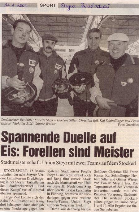 Steyrer Runschau, 11. Jänner 2001