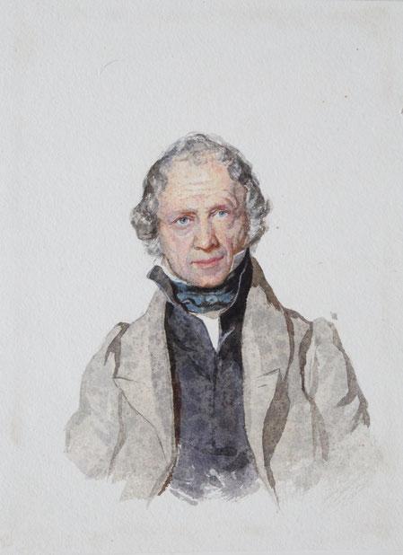 Karl Lang Archiv Büsingen John Jackson Aquarell watercolor