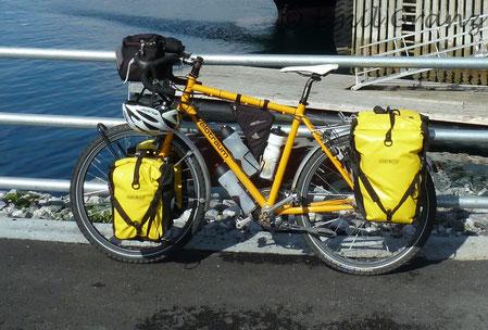 Ausrüstung Fahrrad Skandinavien
