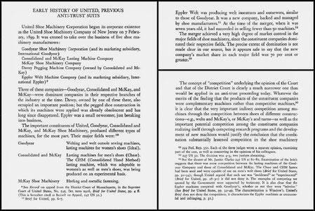 1956 - United States v. United Shoe Machinery Corporation byCarl Kaysen