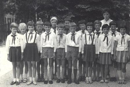 Bild: Teichler Schulklasse 1964 Wünschendorf