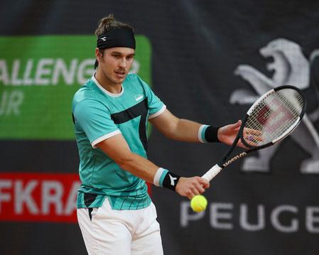 Lukas Lacko - Sieger Einzel Wolffkran Open 2019 - (c) Jürgen Hasenkopf