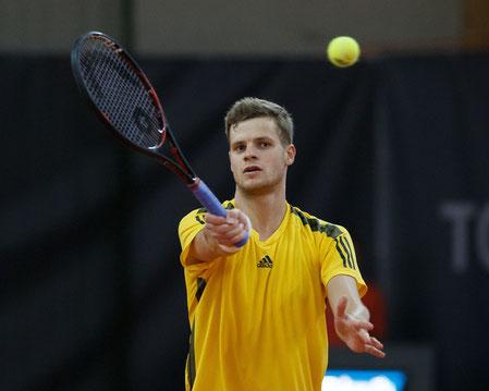 Yannick Hanfmann - Sieger Einzel Wolffkran Open 2017 - (c) Jürgen Hasenkopf