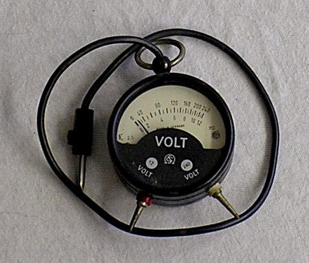 Schöller & Co. Frankfurt a/M. - Taschenvoltmeter von 1950