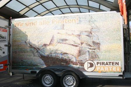 Die Piraten und der gläserne Kasten.