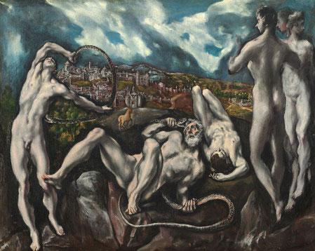 Самые известные картины Эль Греко - Лаокоон