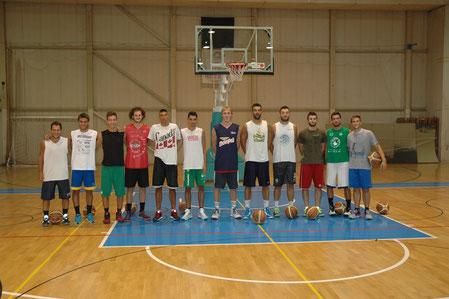 La prima foto della formazione 2015/2016