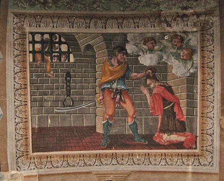 Costa - Egl. Saint Sauveur - Peinture monumentale