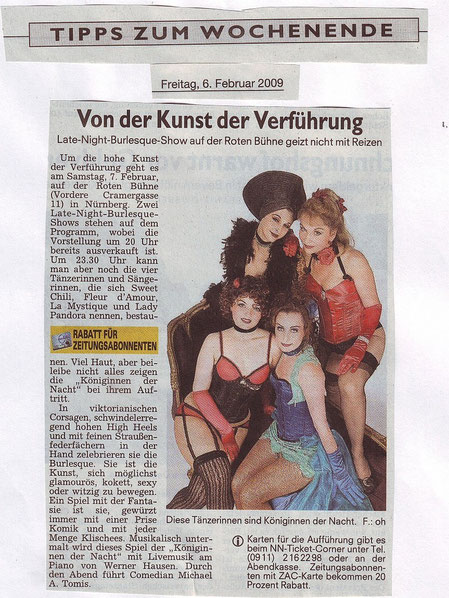 Nürnberger Nachrichten, 06.02.09