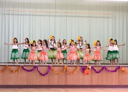 栗原小学校くりくりまつり2016 ケイキみんなで楽しくおどりました!