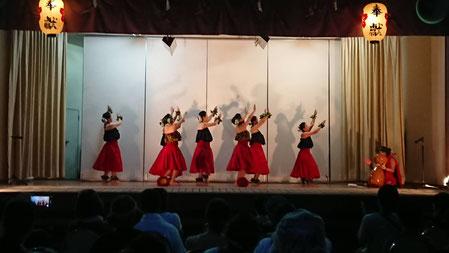 座間 鈴鹿明神社様での奉納舞 古典フラ