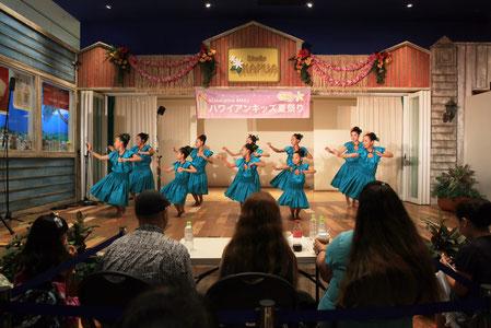 MMJハワイアンキッズ夏祭り2015 息もぴったり! Na Hoa He'e Nalu