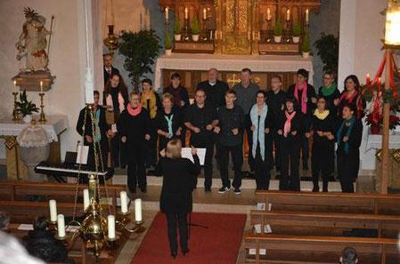 Pro-Ton Adventskonzert 2013 - Chorleitung: Angela Adomnita