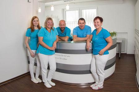 Das Team der Zahnarztpraxis Dr. Christoph Unsin in Erkheim freut sich auf Ihren Besuch!
