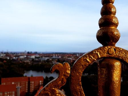 Aussicht vom Turm der Vor Frelsers Kirke
