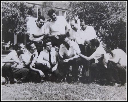 Daniel en el Club Medellín - Colombia - 1968.  Cortesia: Carlos Echeverri-Arias.