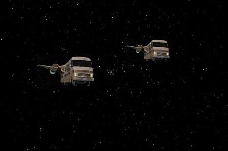Battlestar Galactica Fauntleroy Uzwanzica Episode I Remastered Kurzgeschichten