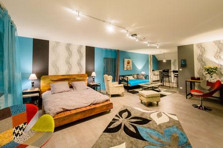 Appartement de vacances de 1 à 4 personnes avec accès à la piscine