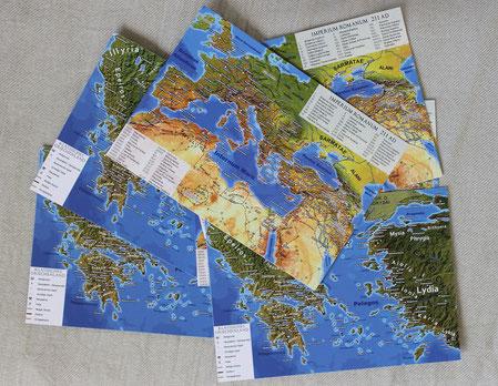 Antikel Welt Postkarten