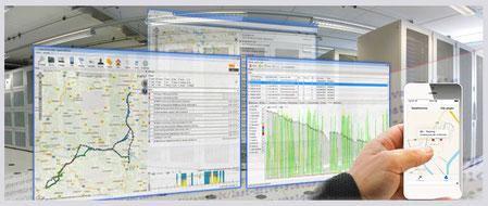 Trackingsoftware für Landmaschinen-Ortung
