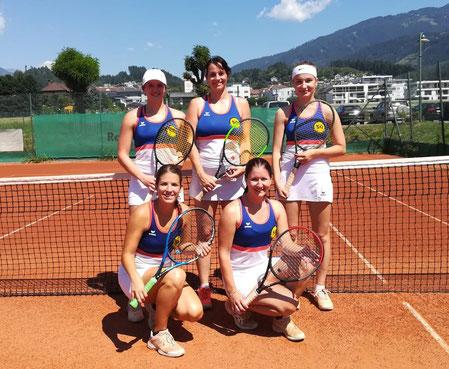 Von links oben: Magdalena, Tina, Melanie, Pia und Karin