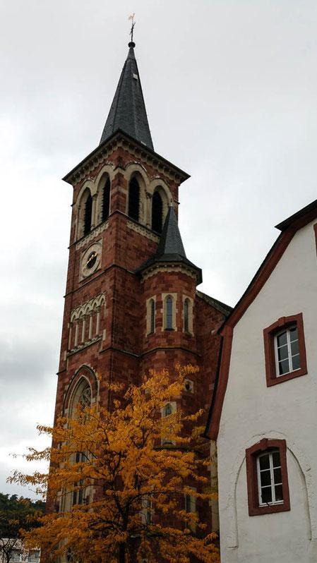 Katholische Pfarrkirche St. Peter, Ehrang (1872-1875)