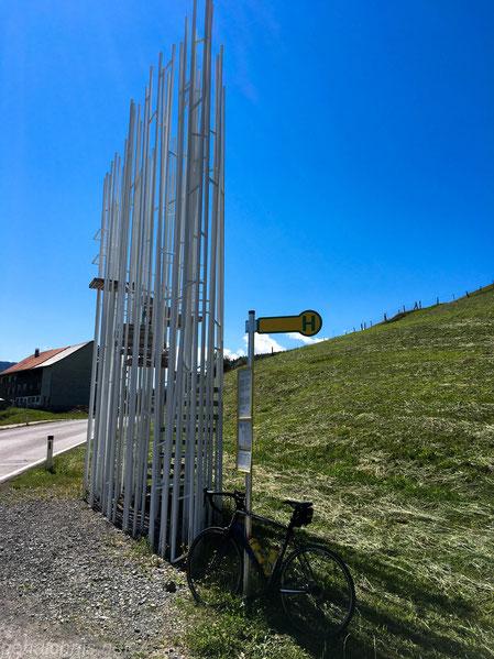 Bushaltestellen-Architektur in Krumbach