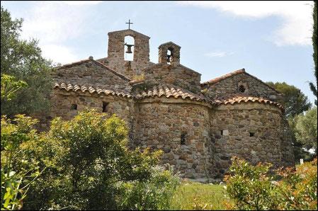 Chapelle du VI siècle à SIX-FOURS LES PLAGES
