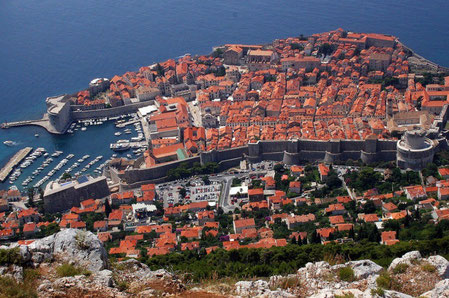 Dubrovnik top things to do - City Walls Copyright Glen Scarborough
