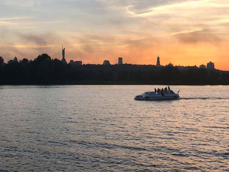 Trips along the Dnieper River