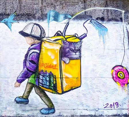 Murals in Kyiv