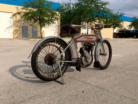1912 Harley-Davidson X8A SINGLE