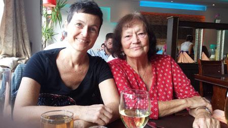 Hilde und Tochter am 1.9.2018