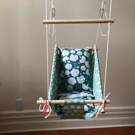 Floral cradle