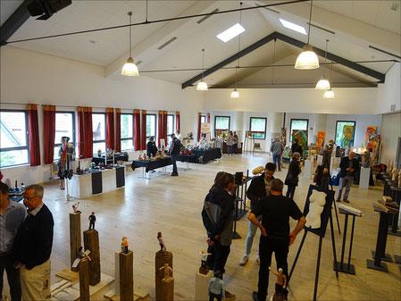 2.Weyherser Kunstage. Bürgerhaus Weyhers. Veranstaltung in Weyhers.