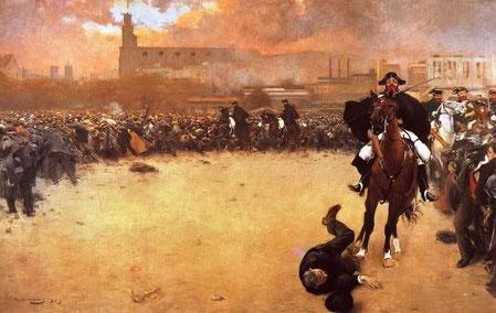 La carga, de Ramón Casas